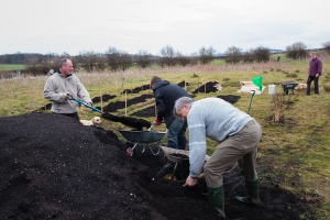 Shifting the compost...
